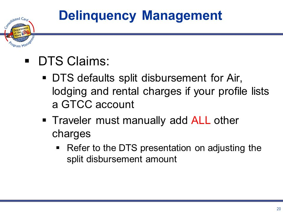 Delinquency Management