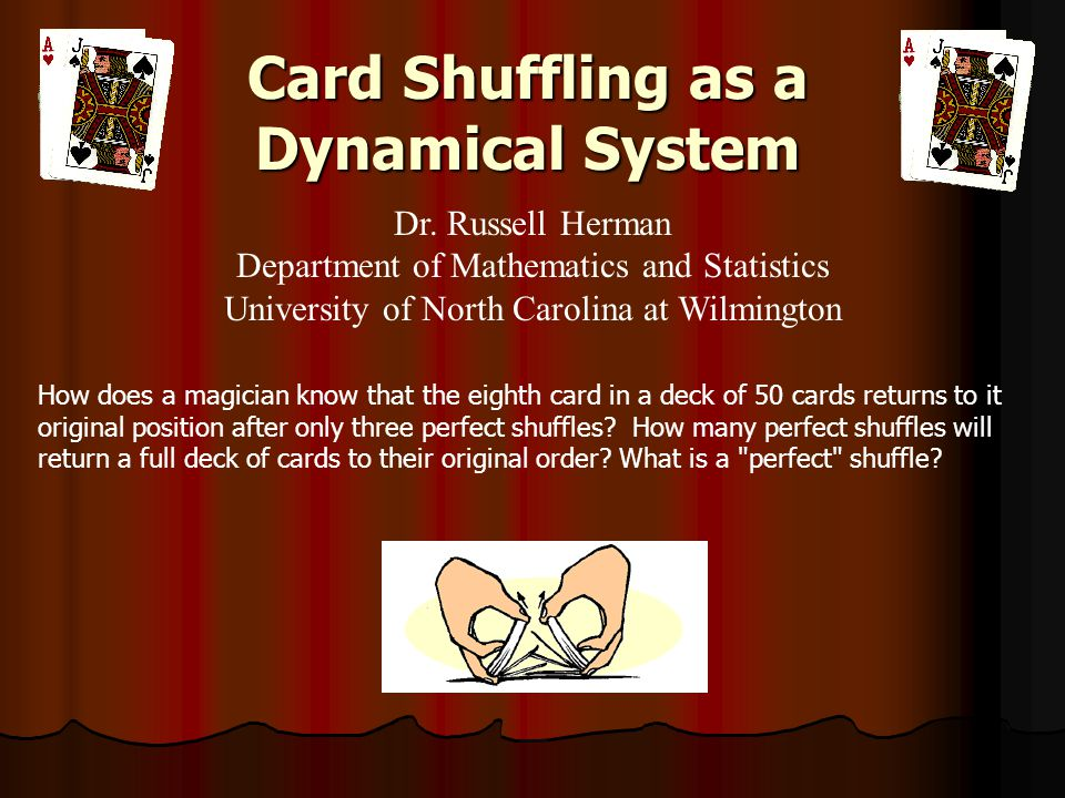 Card Shuffling as a Dynamical System
