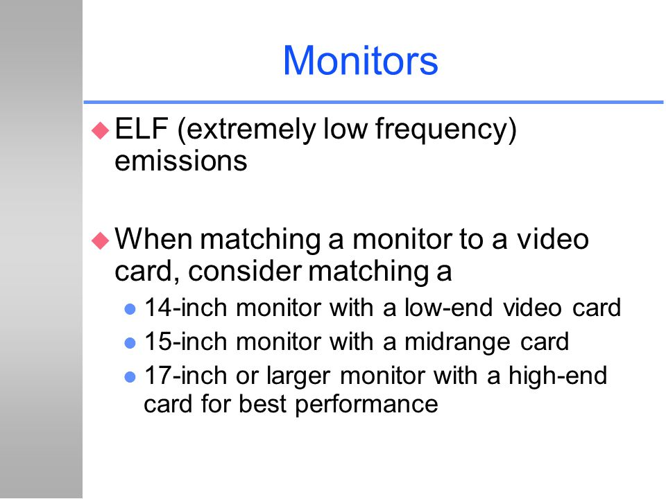 Monitors ELF (extremely low frequency) emissions