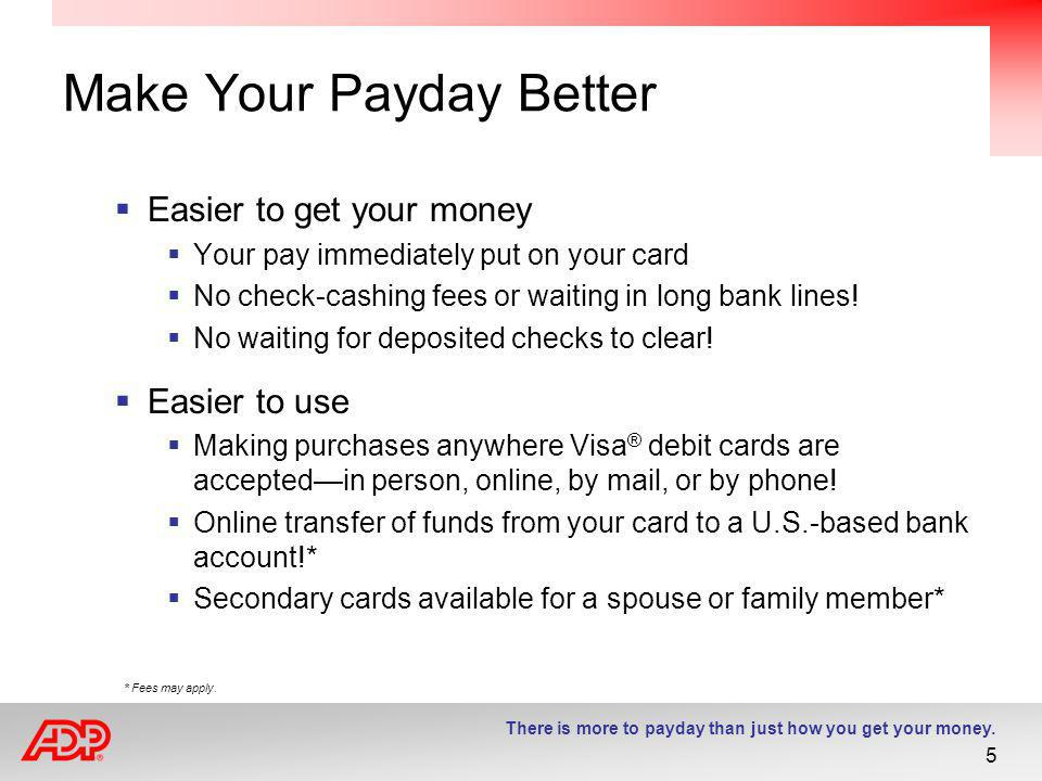 Make Your Payday Better