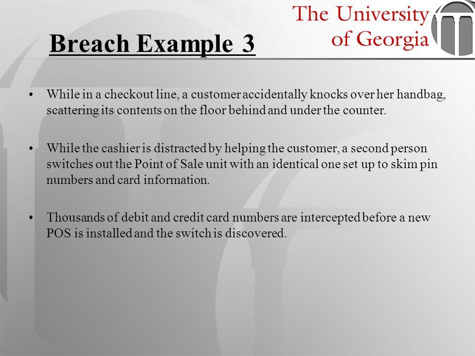 Breach Example 3
