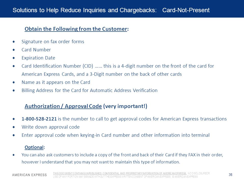 Solutions to Help Reduce Inquiries and Chargebacks: Card-Not-Present