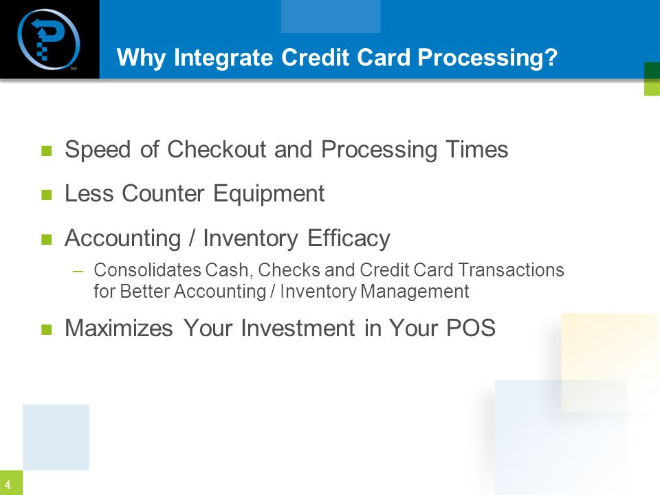 Why Integrate Credit Card Processing