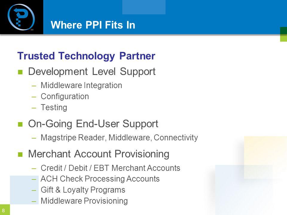 Trusted Technology Partner Development Level Support