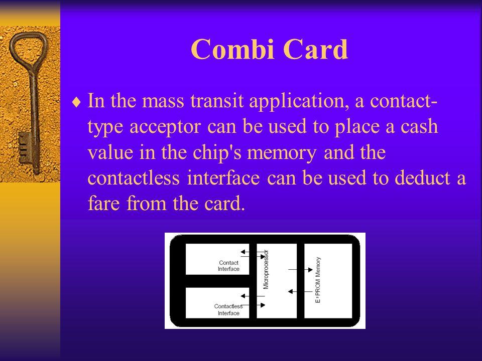 Combi Card
