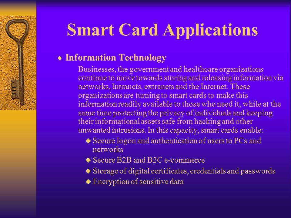 Smart Card Applications