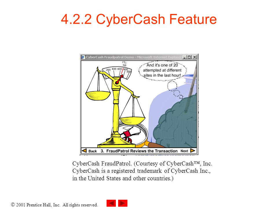 4.2.2 CyberCash Feature