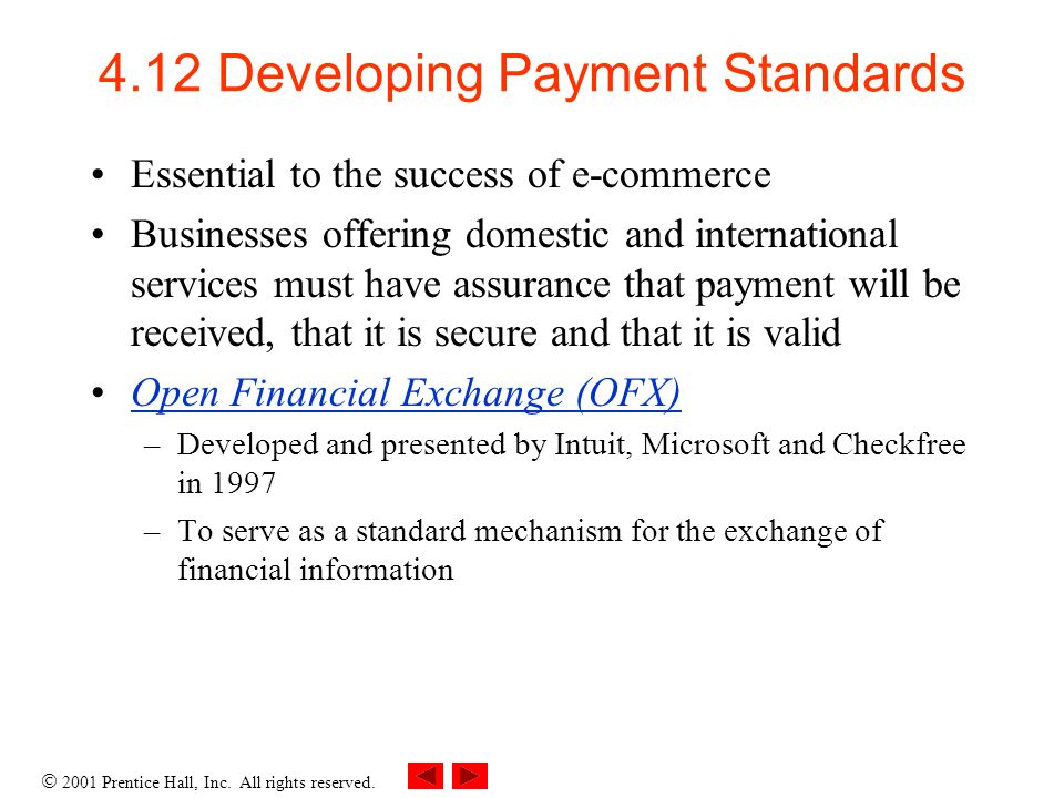 4.12 Developing Payment Standards