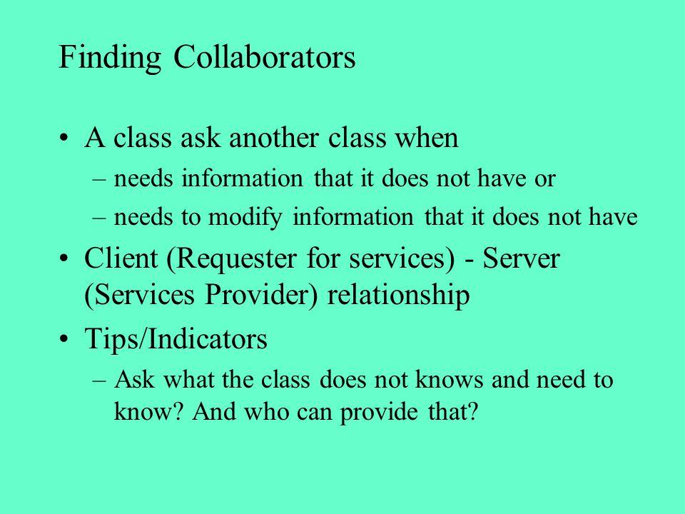 Finding Collaborators