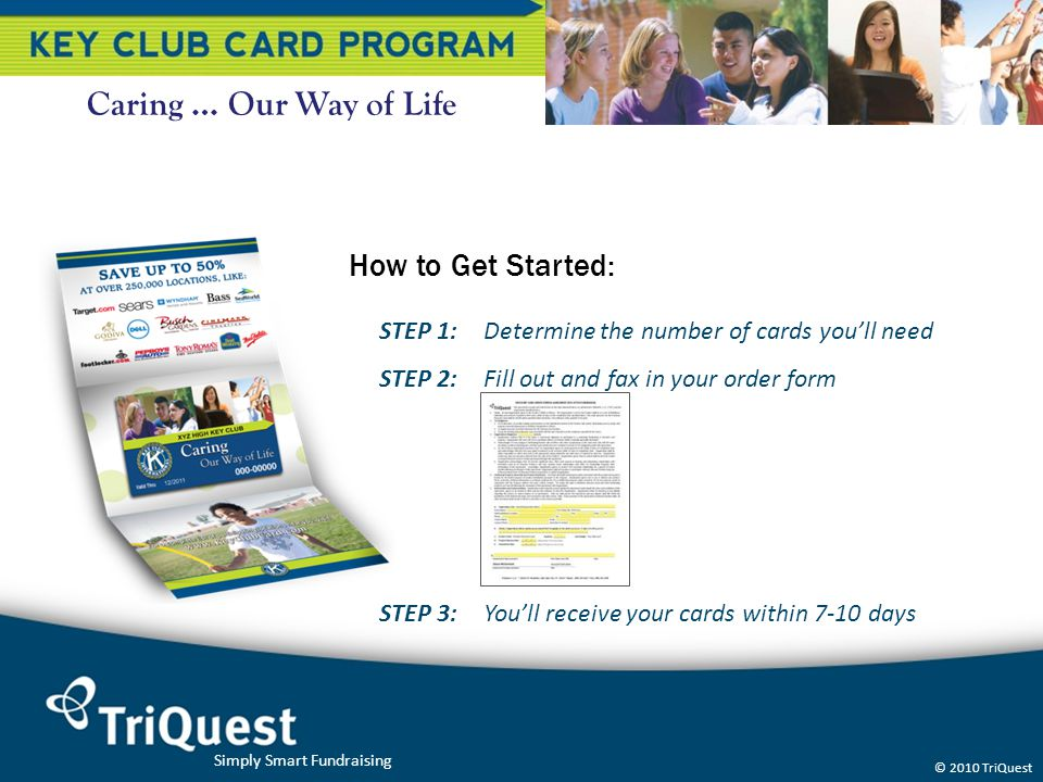 Caring … Our Way of Life How to Get Started:
