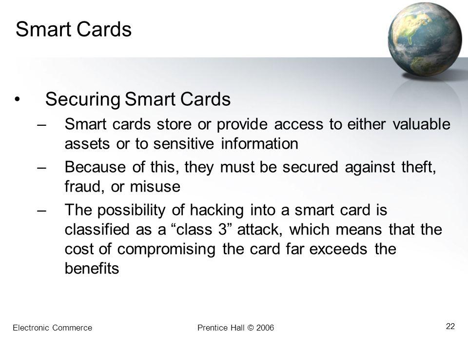 Smart Cards Securing Smart Cards