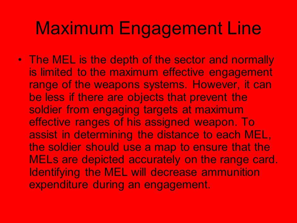 Maximum Engagement Line