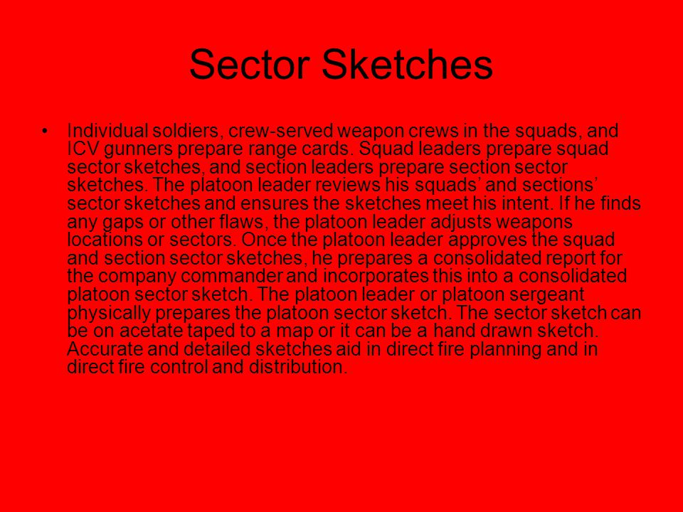 Sector Sketches