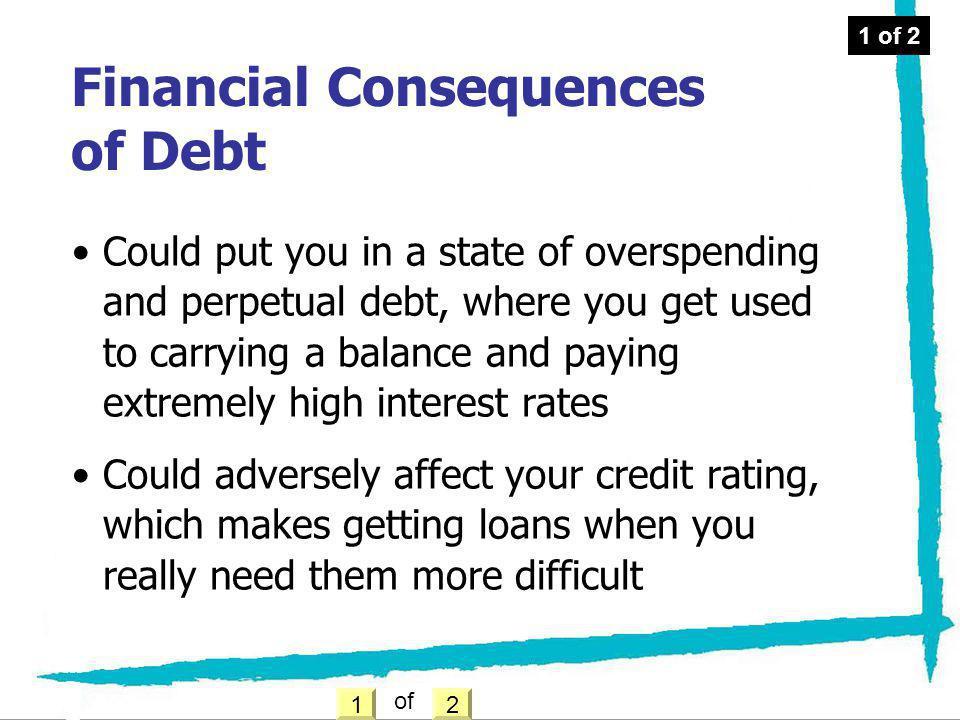 Financial Consequences of Debt
