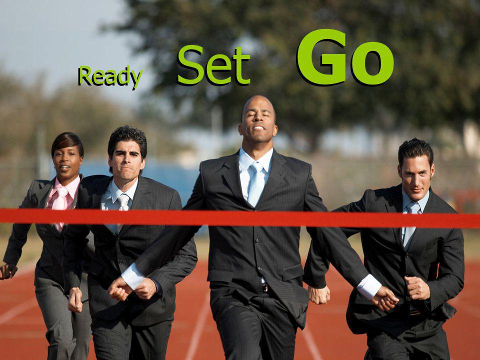 Ready Set Go Ready Set Go Credit: The Good and the Bad