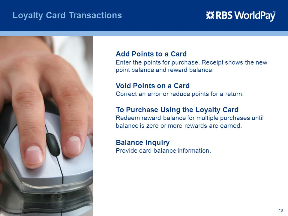 Loyalty Card Transactions