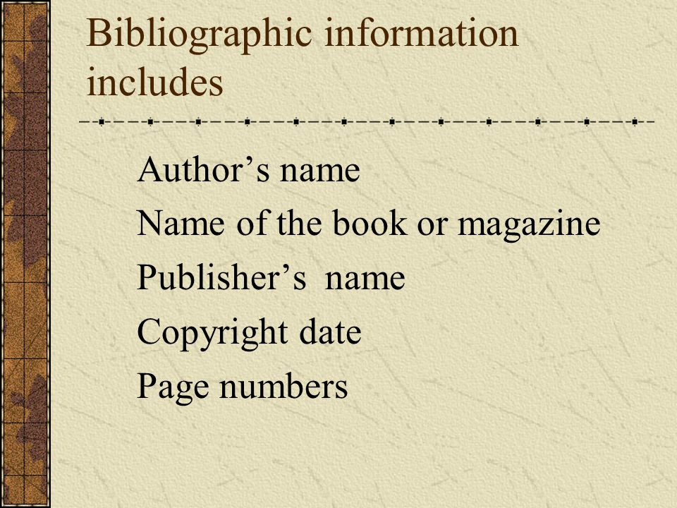 Bibliographic information includes