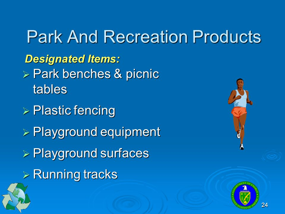 Park And Recreation Products