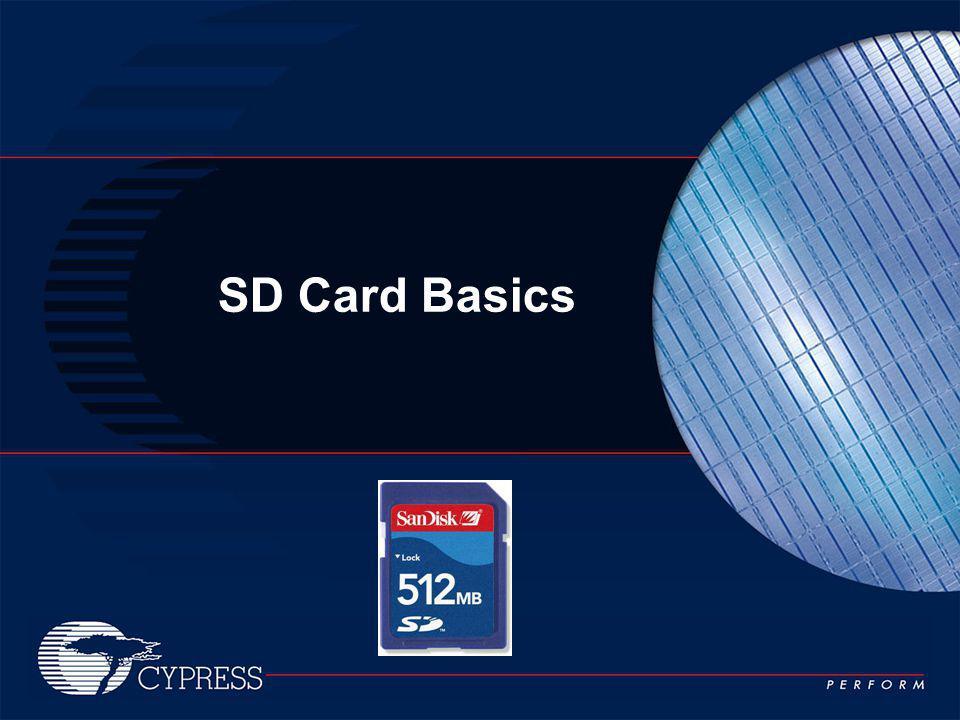 SD Card Basics