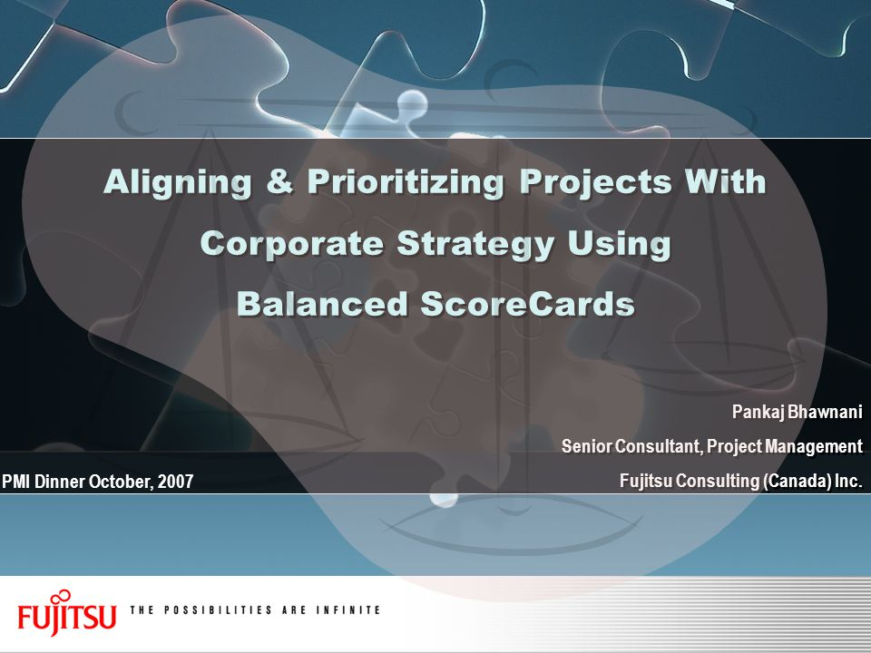 Aligning & Prioritizing Projects With Corporate Strategy Using