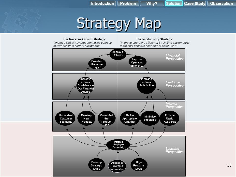 The Revenue Growth Strategy The Productivity Strategy