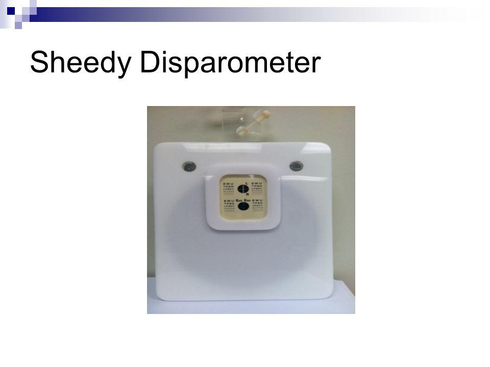 Sheedy Disparometer