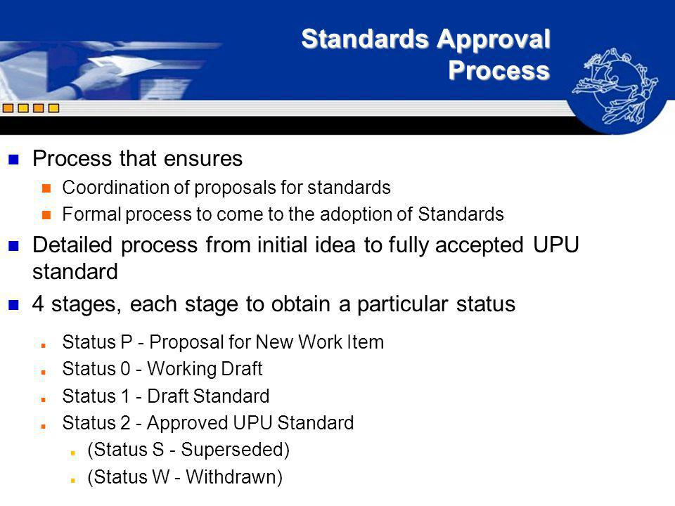 Standards Approval Process