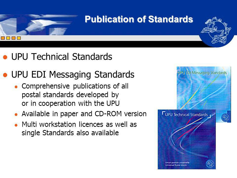 Publication of Standards