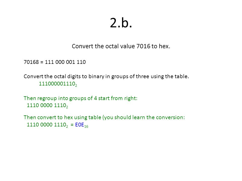 Convert the octal value 7016 to hex.