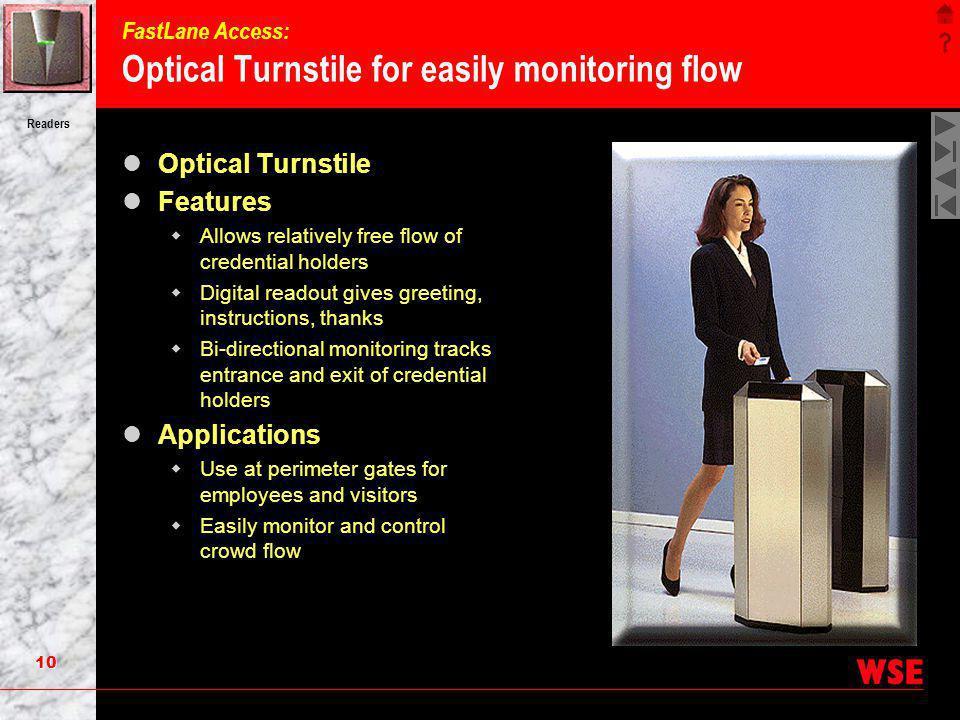 FastLane Access: Optical Turnstile for easily monitoring flow