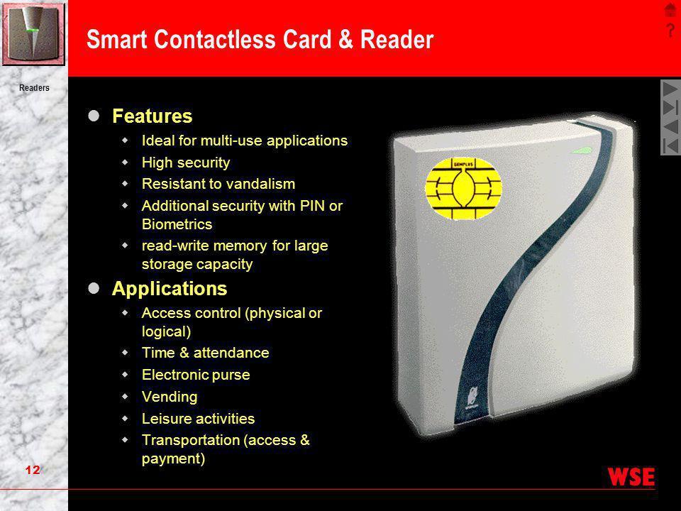 Smart Contactless Card & Reader