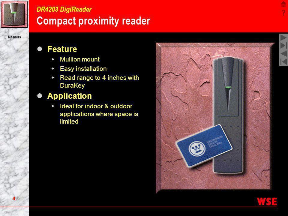 DR4203 DigiReader Compact proximity reader