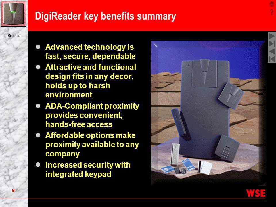 DigiReader key benefits summary