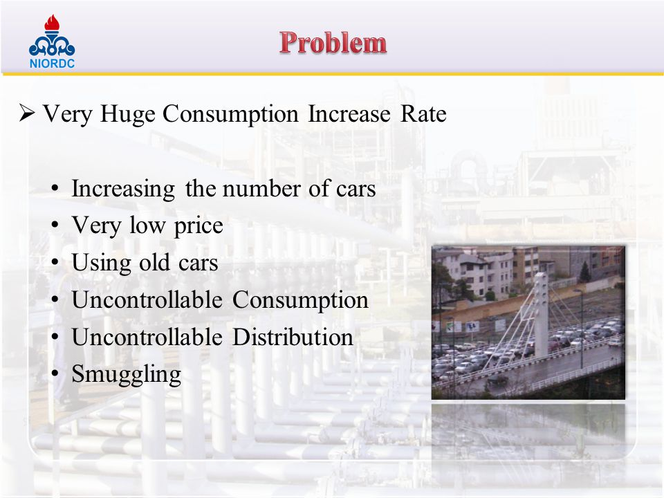 Problem Very Huge Consumption Increase Rate