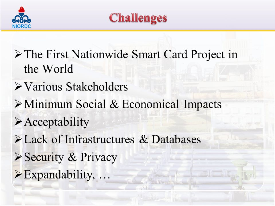 The First Nationwide Smart Card Project in the World