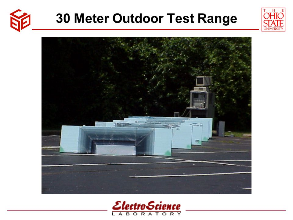 30 Meter Outdoor Test Range