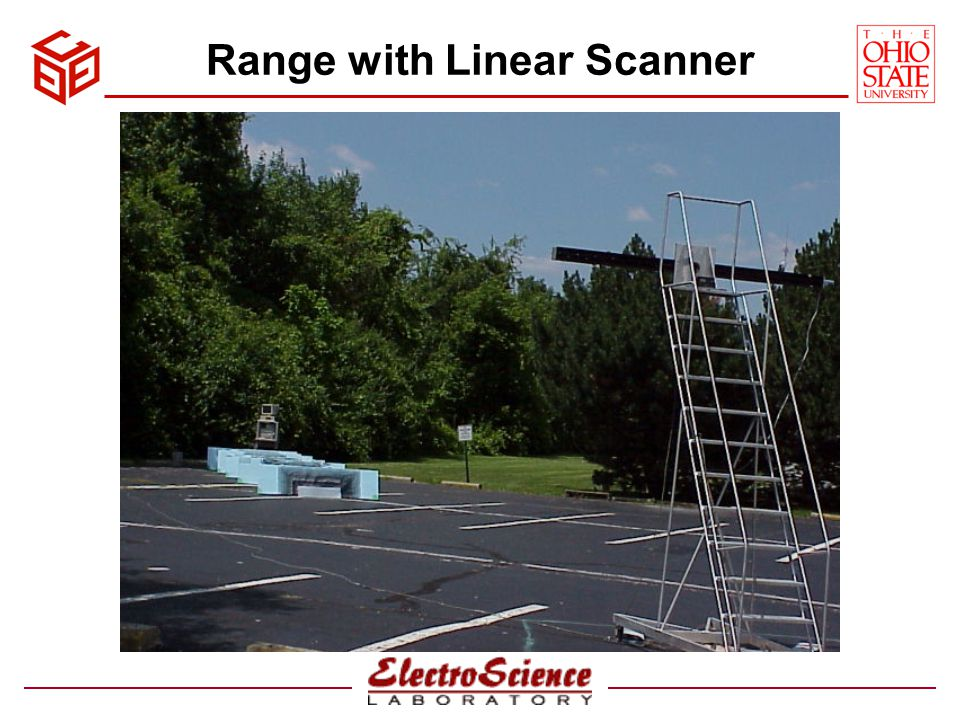 Range with Linear Scanner