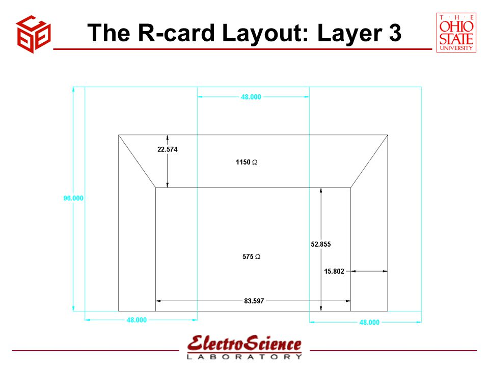 The R-card Layout: Layer 3