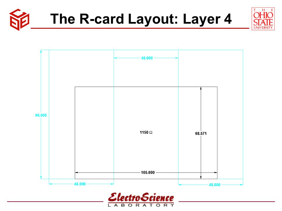 The R-card Layout: Layer 4