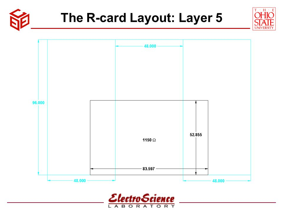 The R-card Layout: Layer 5