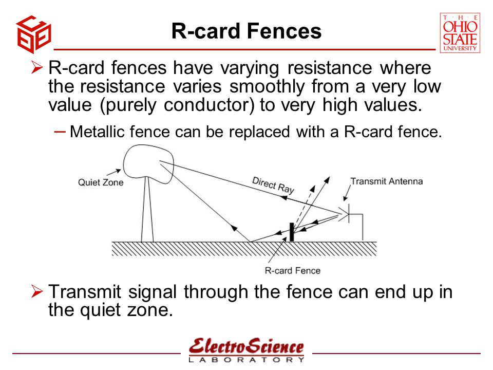 R-card Fences