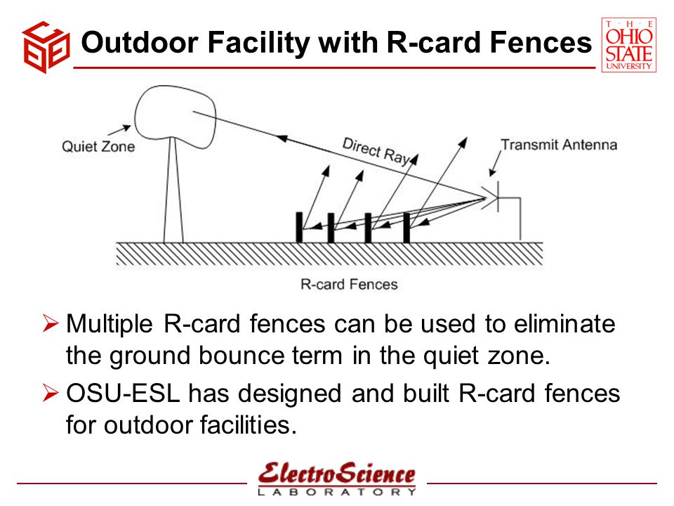 Outdoor Facility with R-card Fences