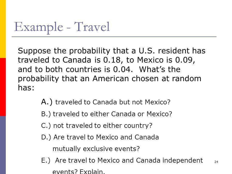 Example - Travel