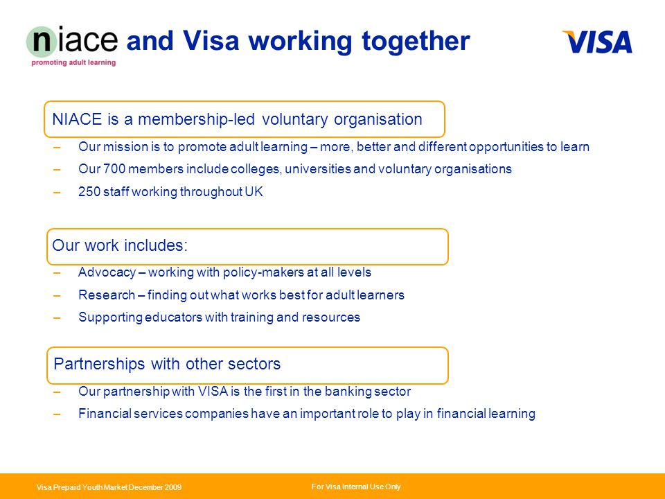 and Visa working together