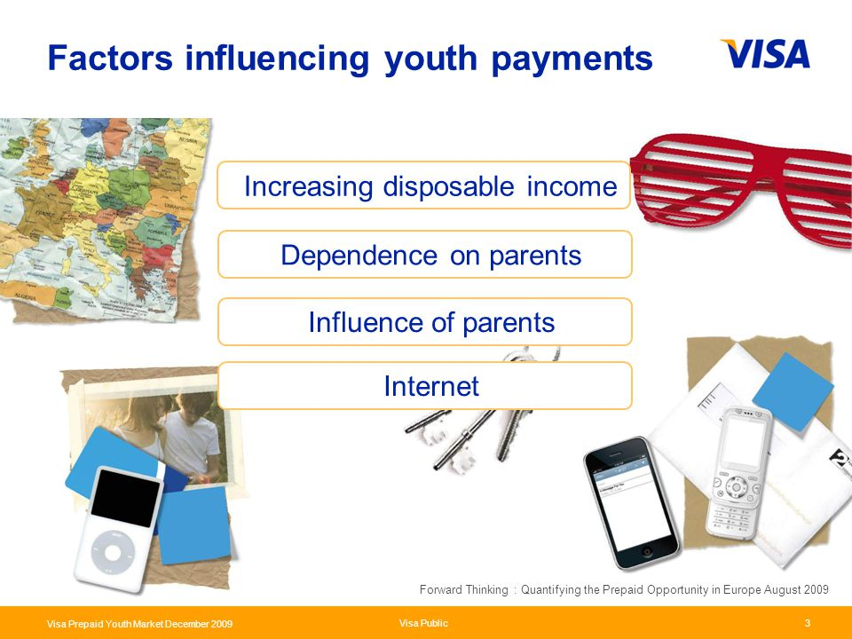 Factors influencing youth payments