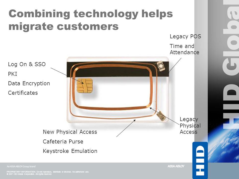 Combining technology helps migrate customers