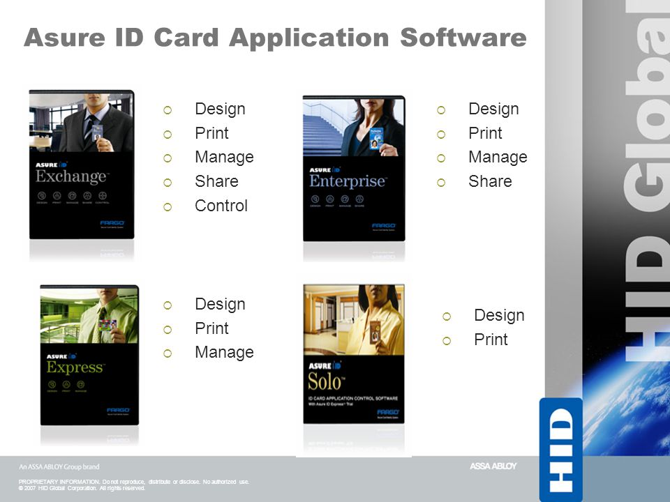 Asure ID Card Application Software
