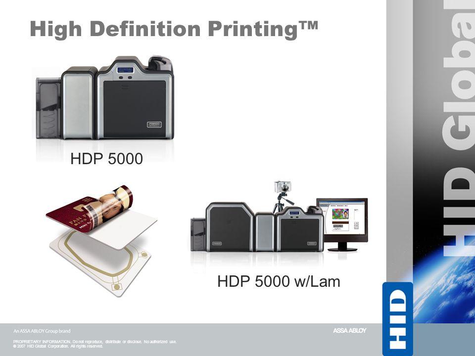 High Definition Printing™