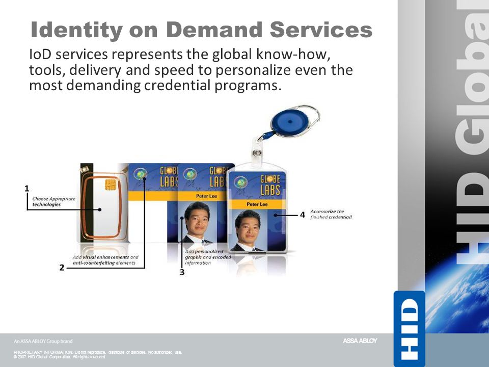 Identity on Demand Services