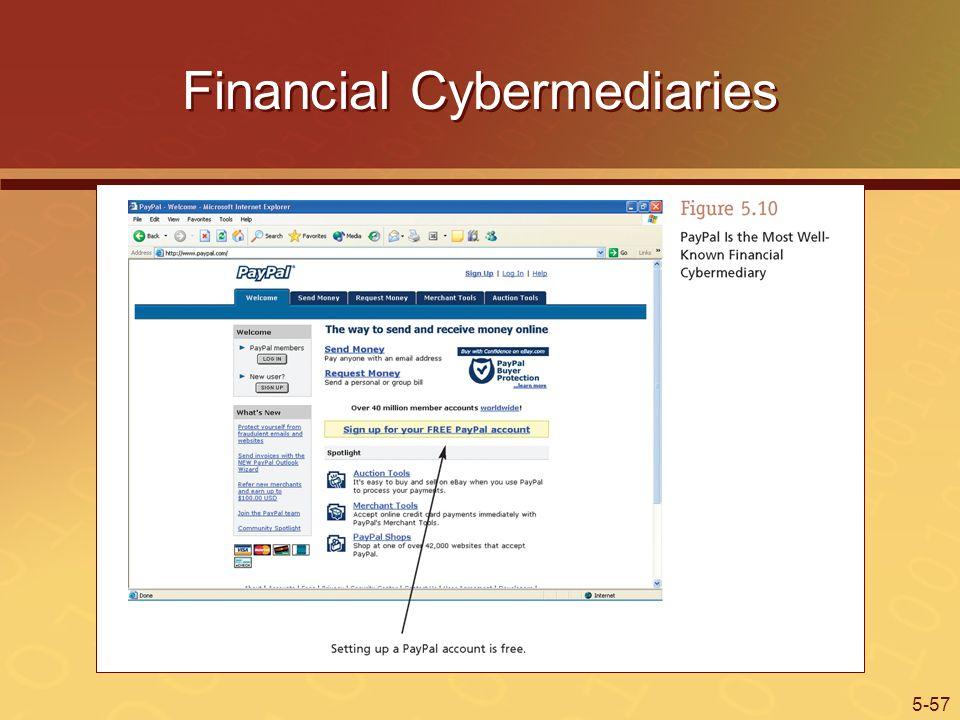 Financial Cybermediaries
